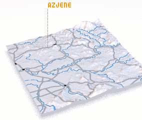 3d view of Azjene