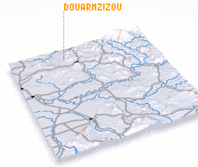 3d view of Douar Mzizou
