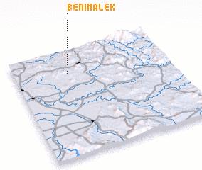 3d view of Beni Malek