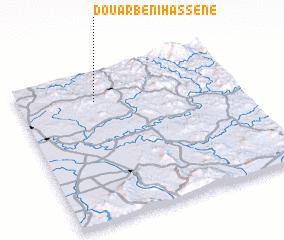 3d view of Douar Beni Hassene