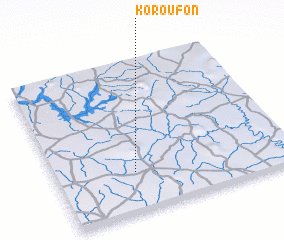3d view of Koroufon