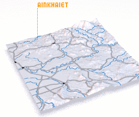 3d view of Aïn Khaïet