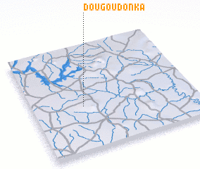 3d view of Dougoudonkâ