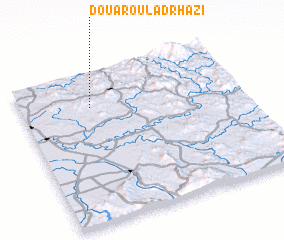 3d view of Douar Oulad Rhazi