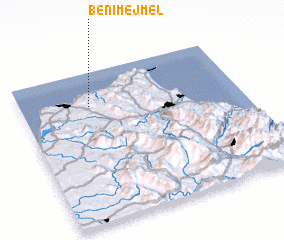 3d view of Beni Mejmel