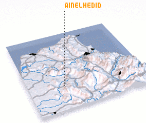 3d view of Aïn el Hedid