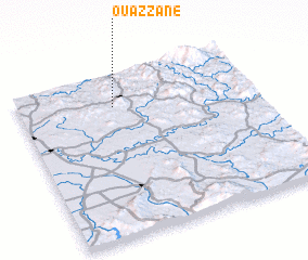 3d view of Ouazzane