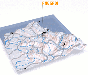 3d view of Amegadi