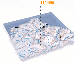 3d view of Beni Ihia