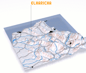 3d view of El Haricha