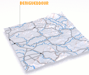 3d view of Beni Gueddour