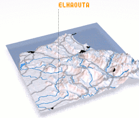 3d view of El Haouta
