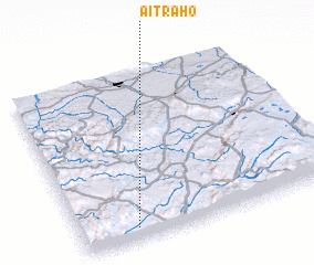 3d view of Aït Raho