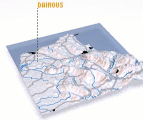3d view of Daïmous