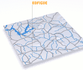 3d view of Kofigué