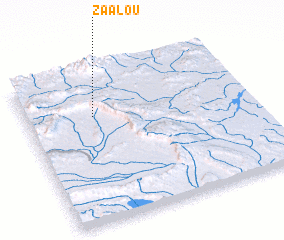 3d view of Zaalou