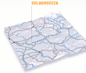 3d view of Oulad Moussa