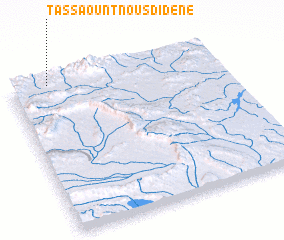 3d view of Tassaount n'Ousdidene