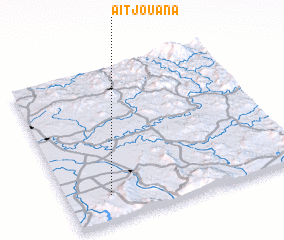 3d view of Aït Jouana