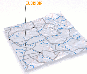 3d view of El Bridia
