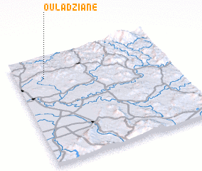 3d view of Oulad Ziane