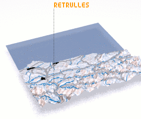 3d view of Retrullés