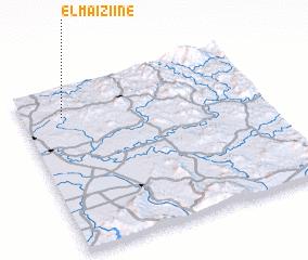 3d view of El Maïziine