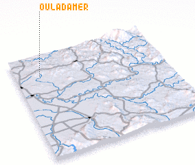 3d view of Oulad Amer
