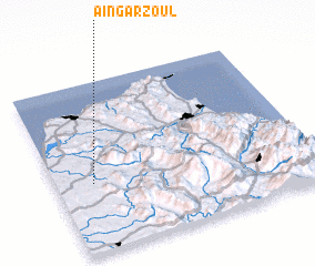3d view of Aïn Garzoul