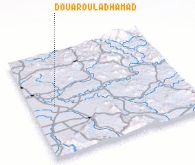 3d view of Douar Oulad Hamad