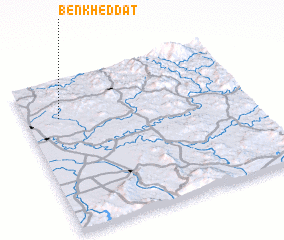 3d view of Ben Kheddat