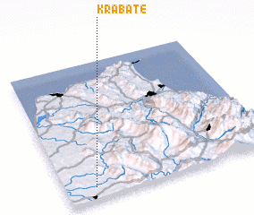 3d view of Krabate
