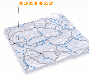 3d view of Oulad Sidi Kassem
