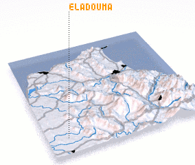 3d view of El Adouma