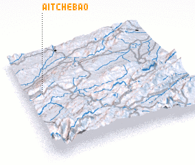 3d view of Aït Chebao