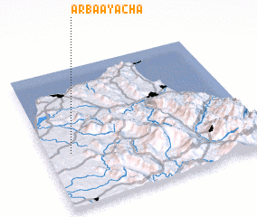 3d view of Arba Ayacha