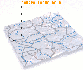 3d view of Douar Oulad Mejdoub