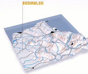 3d view of Beni Malek
