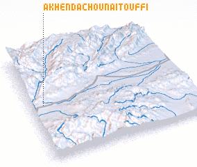 3d view of Akhendachou n'Aït Ouffi
