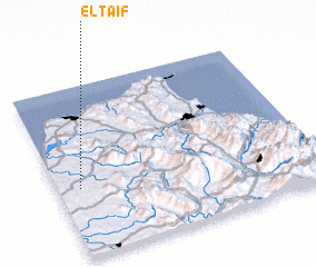 3d view of El Taïf