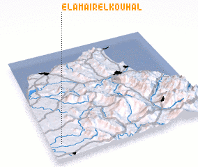 3d view of El Amaïr el Kouhal