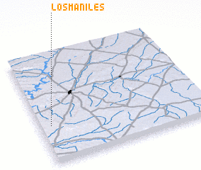 3d view of Los Maniles