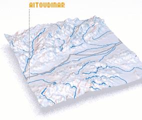 3d view of Aït Oudinar