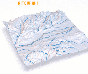 3d view of Aït Ouhahi