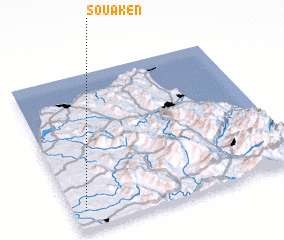 3d view of Souakèn
