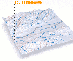 3d view of Zouiet Sidi Daoud