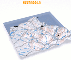 3d view of Es Snaddla