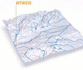 3d view of Aït Aïssi