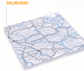 3d view of Oulad Jemil