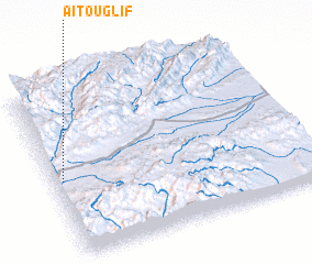 3d view of Aït Ouglif